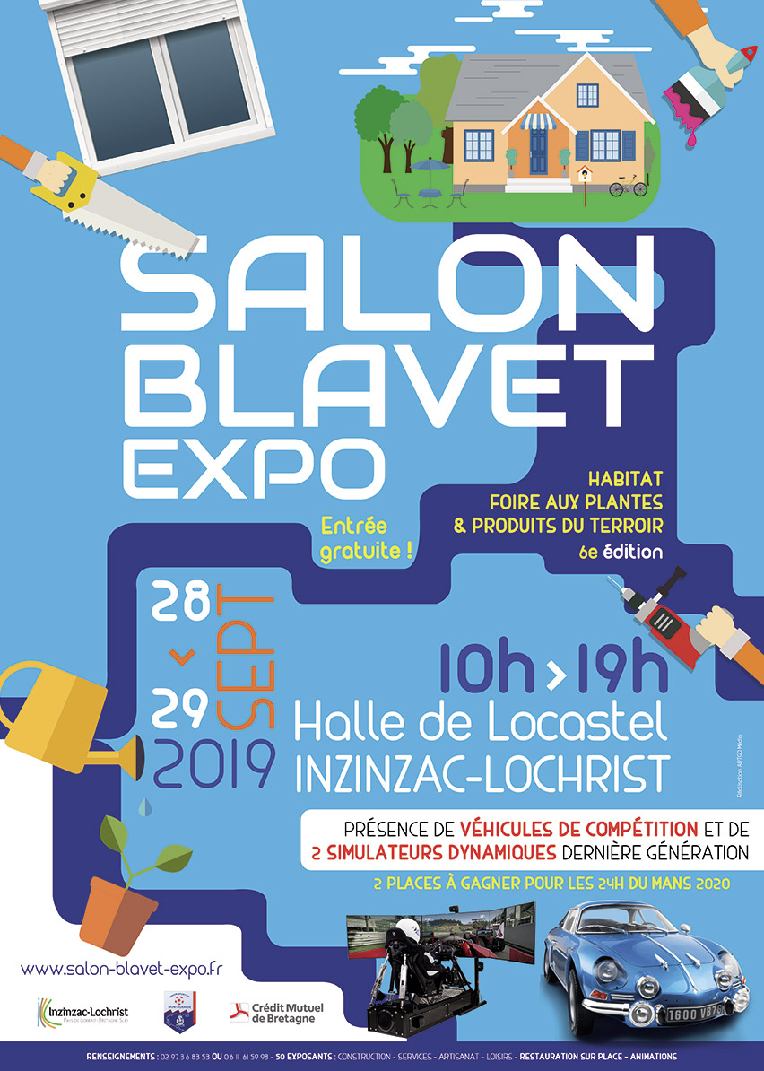 Edition 2019 du Salon Blavet Expo
